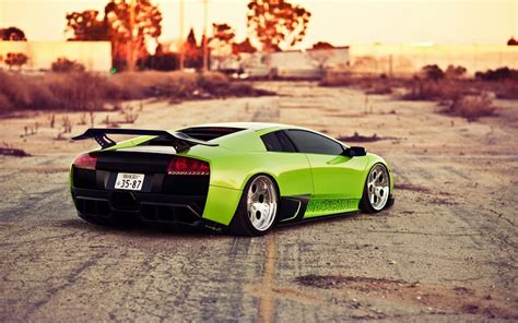 slammed lamborghini the slammed green lambo wallpaper slammed green