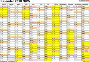 Kalender 2018 Nrw Vorlage Kalender 2018 Nrw Ferien Feiertage Pdf Vorlagen