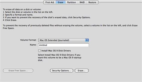 format hard drive journaled mac os extended format external drives to mac os extended before using