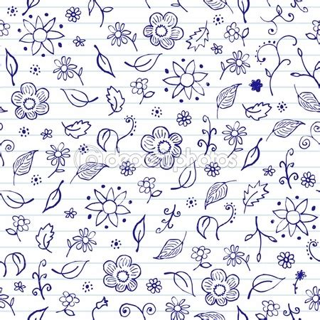 Notebook Doodle Pattern | notebook doodles doodle drawings pinterest