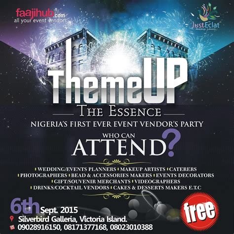 a theme come true events theme up the essence introducing nigeria s 1st ever
