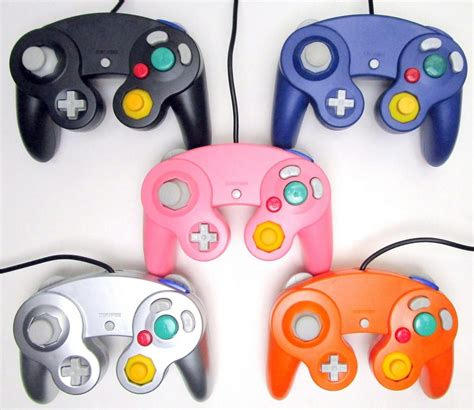gamecube colors new controller for nintendo gamecube console