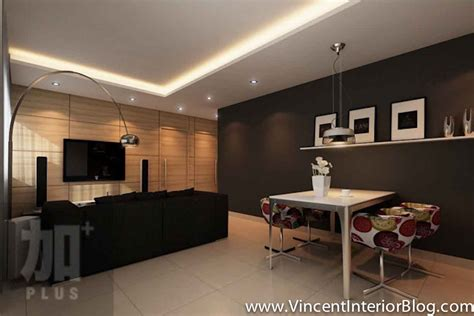 interior design feature walls living room interior design ideas singapore