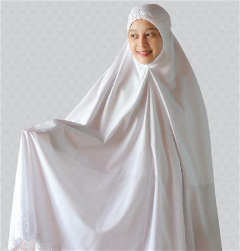 Mukena Raisa Putih siti khadijah brand mukena terbesar malaysia buatan pengrajin indonesia