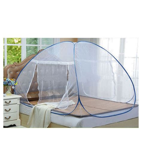 net bed rs 849 asp double bed folding mosquito net from snapdeal