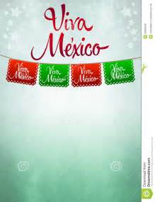 Viva mexico poster mexican paper decoration stock photo image