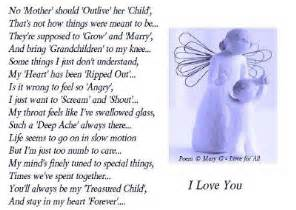 Break Sympathy Letter mother grieving loss of child http