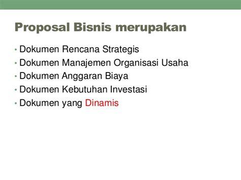 membuat proposal bisnis untuk investor penyusunan proposal bisnis