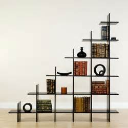 schaufenster regal creative trilogy staircase bookshelf