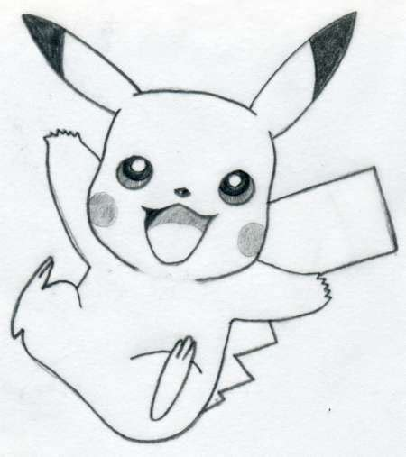 Sketches I Can Draw by Draw Pikachu Quickly And Easily