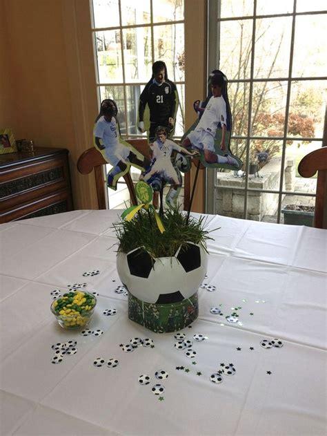 soccer centerpieces 25 best ideas about soccer banquet on soccer