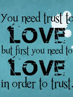 images of love n trust love in order to trust