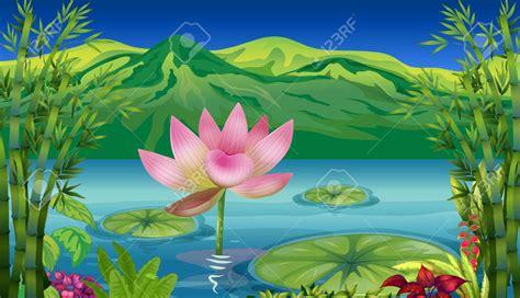 arts clipart lake scenery clip cliparts