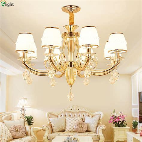 room chandeliers modern lustre led pendant chandeliers light gold metal living room led chandelier
