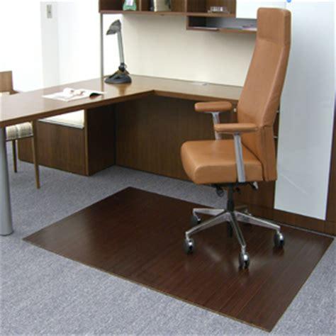 Bamboo Desk Mat by Bamboo Chair Mats Are Bamboo Tri Fold Office Mats Desk Mats By American Chair Mats