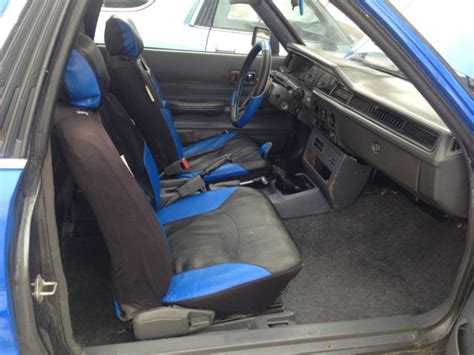 1986 subaru brat interior 1986 subaru brat w restored and interior