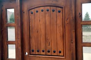 Knotty Alder Exterior Doors Rustic Tuscany Knotty Alder Entry Doors With Sidelights