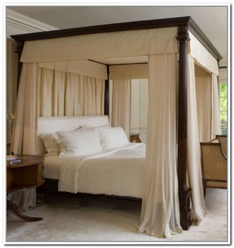 draped bed canopy drapes 5466