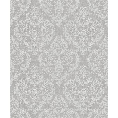 grey wallpaper b m calico damask wallpaper grey wallpaper b m