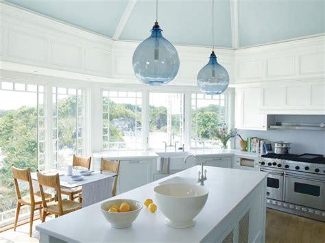 brandon barre blue kitchen breakfast bar light blue high rooms viewer hgtv
