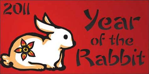 new year rabbit lunar years of bunny see birth to einstein confucius