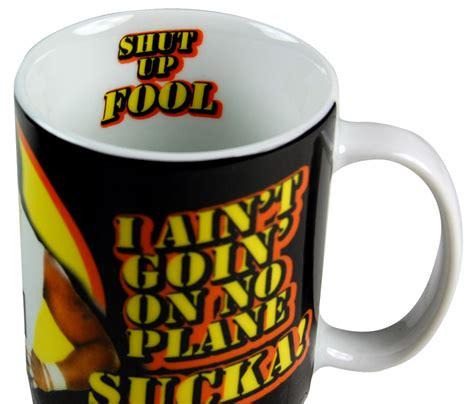 Gift Large 9483 Mr T Mug The A Team Shut Up Fool Mug Ebay