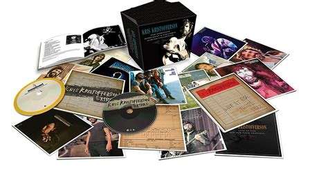 christmas gifts for country music fans kris kristofferson the complete monument columbia