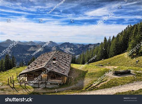 cottage in the mountains cottage in the mountains stock photo 56465881