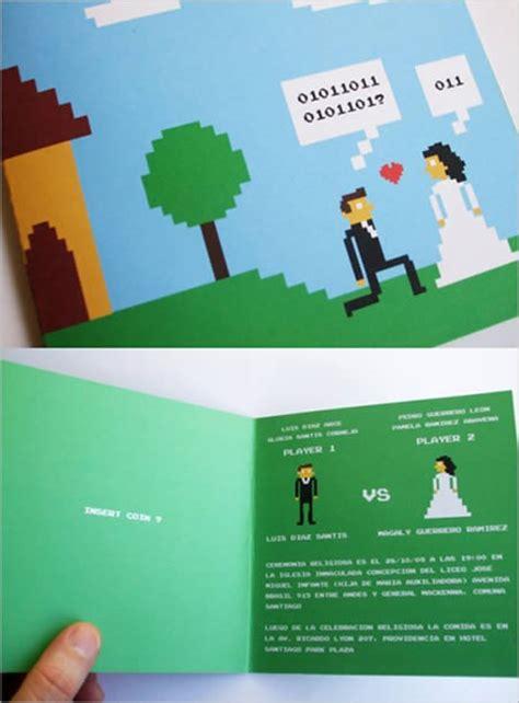 11 great wedding invitations kotaku australia