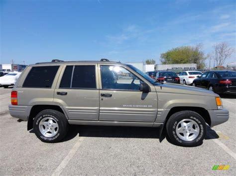 gold jeep cherokee char gold satin glow 1998 jeep grand cherokee laredo 4x4