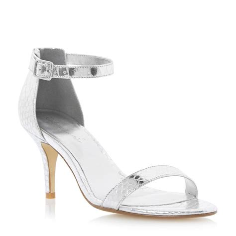 silver heeled sandals silver sandals heels www pixshark images galleries