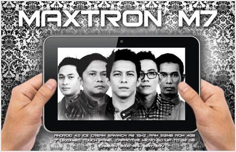 Baterai Tablet Maxtron M7 maxtron tab m7 iklan noah tv seputar dunia ponsel dan hp