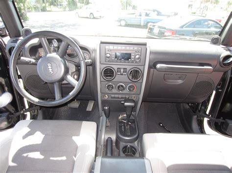 2007 Jeep Wrangler X Interior 2007 jeep wrangler interior pictures cargurus