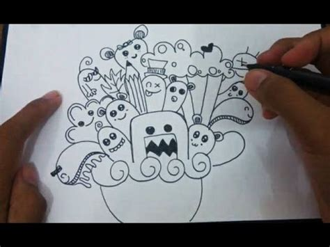 how to doodle your name for beginners how to doodle doodle tutorial cara menggambar