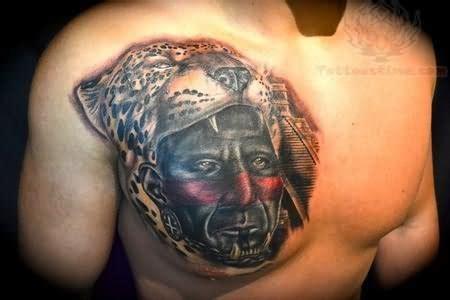 jaguar tattoo on chest jaguar warrior tattoo on chest