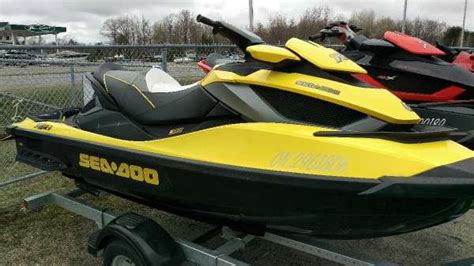 sea doo boat dealers in ontario sea doo rxt is 260 2011 used boat for sale in mactier