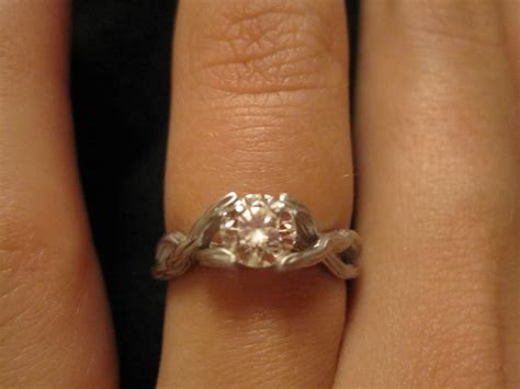tree branch engagement ring heaven my style