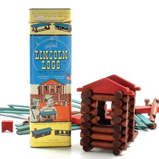 square lincoln logs lincoln logs national of fame