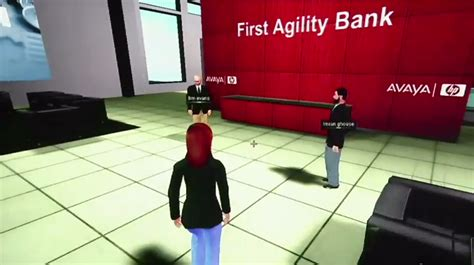 virtuale banking hp rolls out banking with avaya s web alive