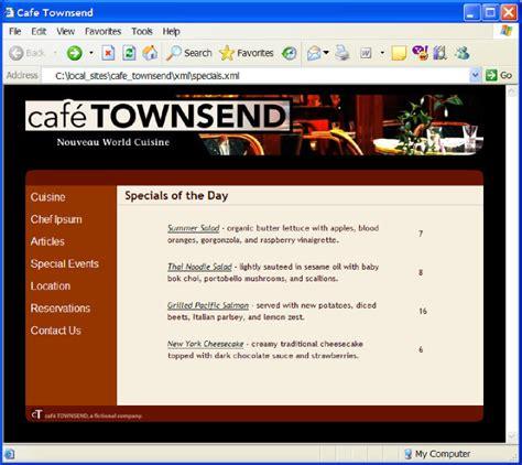 dreamweaver xslt tutorial use xml and xslt with dreamweaver web pages