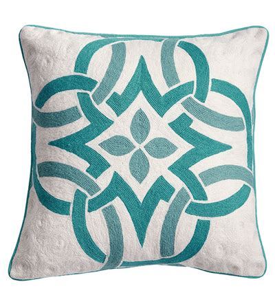 knot pillow celtic knot pillow everything turquoise