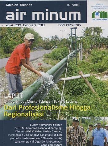 Tukang Ledeng by Air Minum Edisi 209 Februari 2013 Quot Dialog Empat Menteri