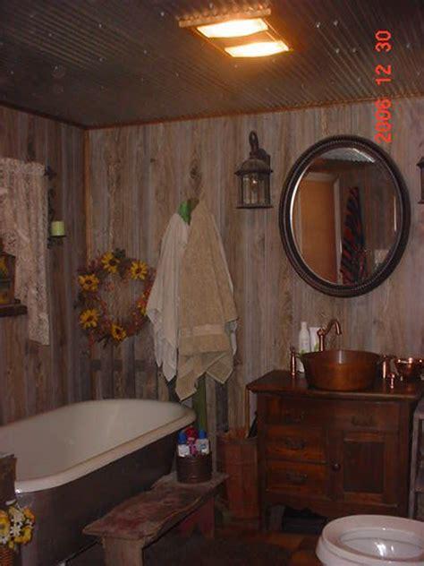 western style bathroom decor clawfoot bathtub country style simple rustic decor