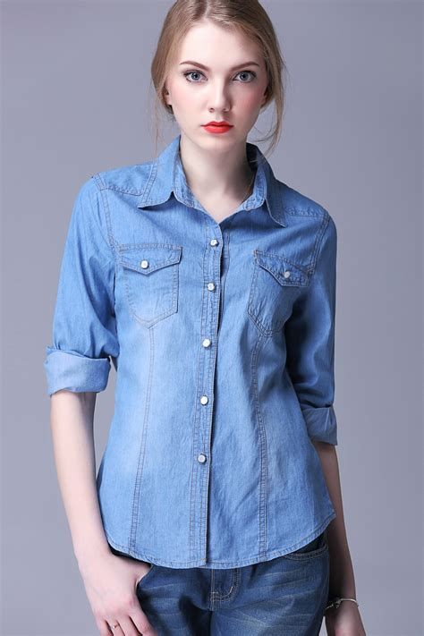 Denim Blouse the of denim shirts for
