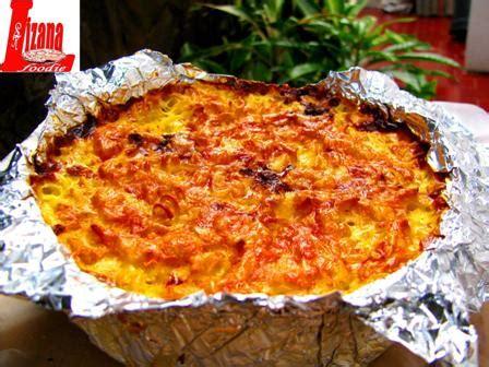 Makaroni Schotel Smoked Beef lizana foodie salmon en croute quiche lasagna macaroni schotel fettucine carbonara roast