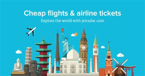 cheap flights and airline tickets jetradar