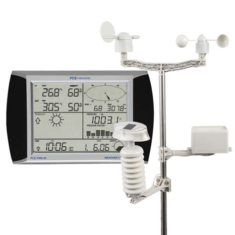 weather station pce fws 20 pce instruments