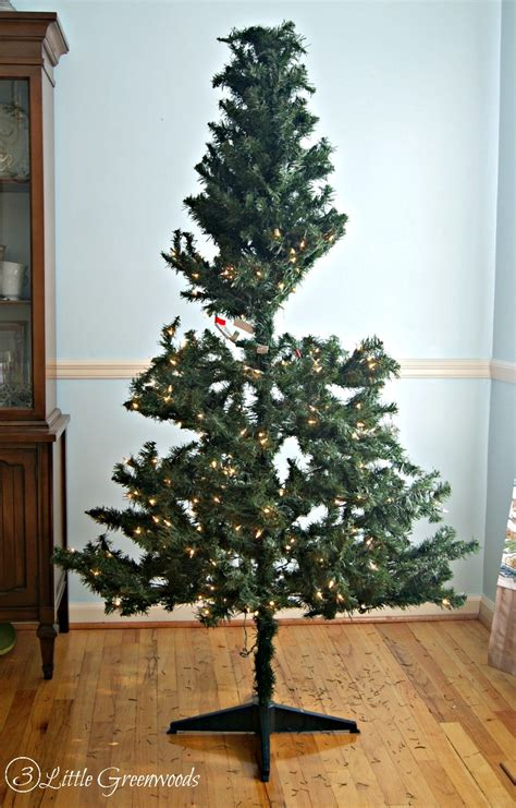 what to do with fake christmas trees update a tree for less than 10 by 3 greenwoods