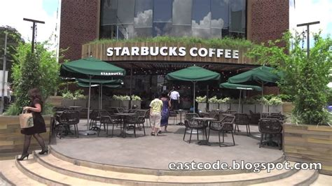 Newly open Starbucks Coffee shop Ho Chi Minh City Vietnam   YouTube