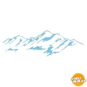 Bedroom Design Catalog mountain 990663 wall stencils